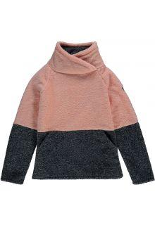 O'Neill---Fleece-pullover-for-girls---Hazel---Salmon