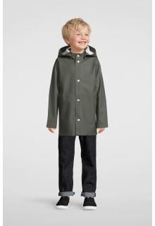 Stutterheim---Raincoat-for-children---Mini-Stockholm---Green