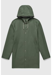 Stutterheim---Raincoat-for-men-and-women---Stockholm---Green