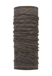 Buff---Lightweight-Merino-Tube-scarf-Stripes-for-adults---Brown/Multi