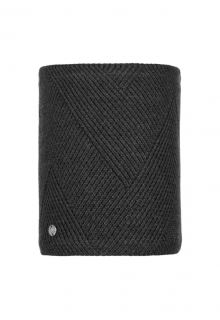 Buff---Knitted-Polar-Tube-scarf-Disa-for-adults---Black