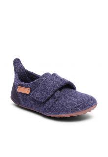 Bisgaard---Home-shoe-for-babies---Casual-wool---Blue