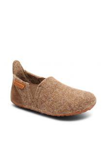 Bisgaard---Home-shoe-for-babies---Sailor-wool---Camel