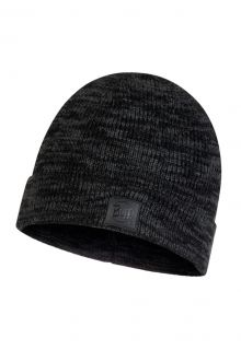 Buff---Knitted-Hat-Edik-for-adults---Grey/Black