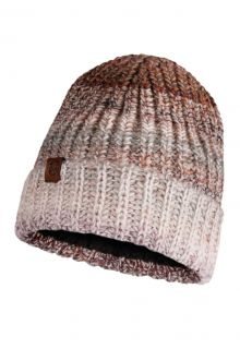 Buff---Knitted-Polar-Hat-Olya-for-adults---Brown/Multi