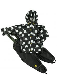 CeLaVi---Rainwear-suit-with-Elefant-print-for-kids---Mineral-Yellow