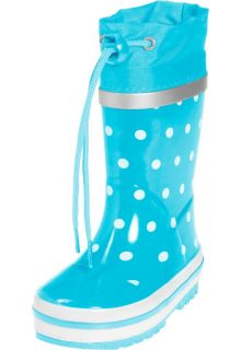Playshoes---Rubber-Boots-Dots---Turquoise