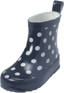 Playshoes---Short-Rainboots---Navy-Dots