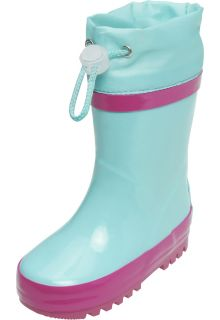 Playshoes---Rainboots-with-drawstring---Turquoise/Pink