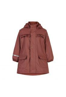 CeLaVi---Rain-coat-with-fleece-for-kids---Mahogany