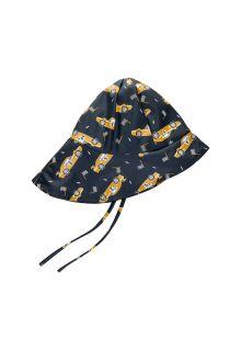 CeLaVi---Rain-hat-with-fleece-for-kids---Race-car---Navy