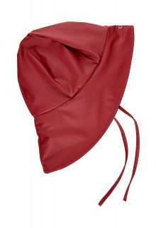 CeLaVi---Rain-cap-with-fleece-for-kids---Solid---Dark-red