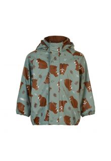 CeLaVi---Rain-jacket-with-fleece-for-kids---Bear---Slate-grey