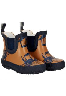 CeLaVi---Short-rainboots-for-kids---Tractors---Pumpkin