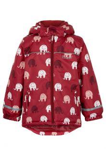 CeLaVi---Snow-jacket-for-girls---Elephant---Dark-red