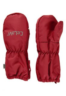 CeLaVi---Mittens-with-fleece-lining-for-kids---Dark-red