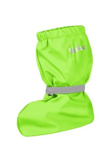 Playshoes---Rain-booties-with-fleece-lining-for-kids---Neon-green