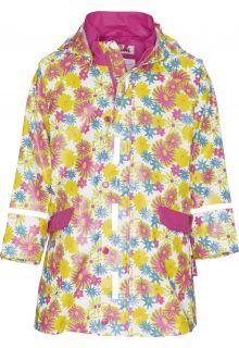 Playshoes---Rain-Coat-Flower-Print---White