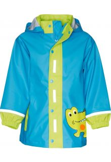 Playshoes---Rainjacket-with-Reflectors---Crocodile