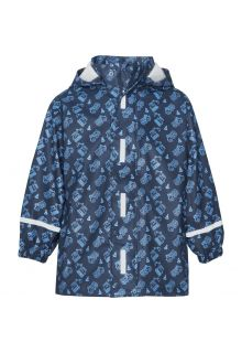 Playshoes---Raincoat-for-boys---Construction-site---Navy