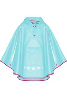 Playshoes---Rainponcho-for-kids---Foldable---Turquoise