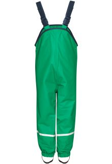 Playshoes---Rain-Bib-Trousers-with-Fleece-lining---Green