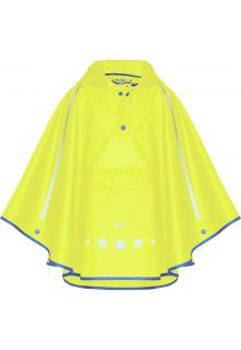 Playshoes---Rainponcho-for-kids---Foldable---Neon-yellow