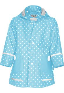 Playshoes---Raincoat-for-kids---dotted---Turquoise