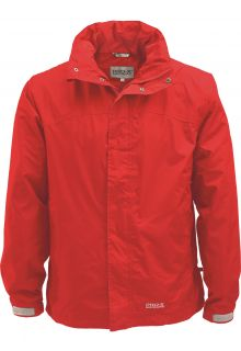 Pro-X-Elements---Packable-rain-jacket-for-men---Meran---Ruby-red