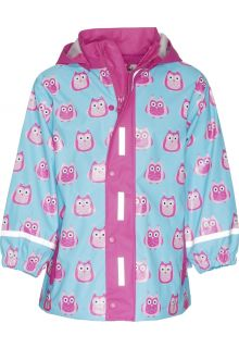 Playshoes---Rain-Coat-Owls---Turquoise