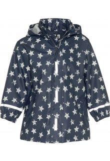 Playshoes---Rainjacket-for-kids---Stars---Navy