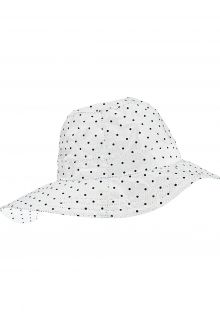 Pro-X-Elements---Southwester-rain-hat-for-women---Rügen---White-with-dots