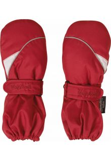 Playshoes---Winter-Mittens-with-velcro---Red