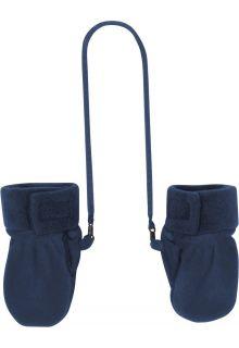 Playshoes---Fleece-Mittens---Navy