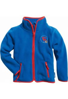 Playshoes---Fleece-jack-with-long-sleeves---Blue/Red