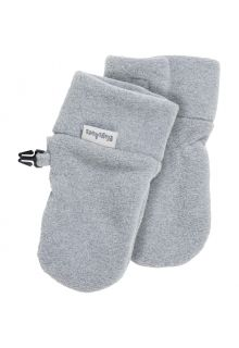Playshoes---Fleece-mittens-for-babies---Grey