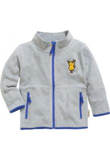 Playshoes---Fleece-jacket-for-kids---Mouse---Grey/melange