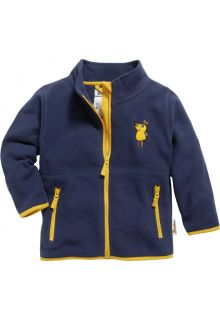 Playshoes---Fleece-jacket-for-kids---Mouse---Navy