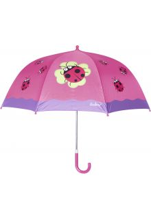 Playshoes---Children's-umbrella-with-Ladybug---Pink