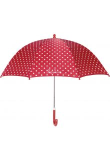 Playshoes---Children's-umbrella-with-Dots---Red