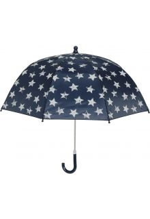 Playshoes---Umbrella-for-kids---Stars---Navy