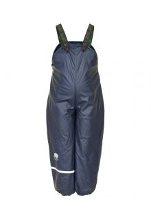 CeLaVi---Rain-Pants-with-Fleece-for-kids---Navy-Blue