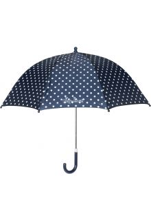 Playshoes---Children's-umbrella-with-Dots---Navy