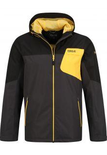 Pro-X-Elements---PXE-light-weight-rain-jacket-for-men---Mason---Black