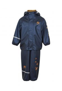CeLavi---Rainwear-suit-for-kids---Solid-Mettalic---Dark-Blue