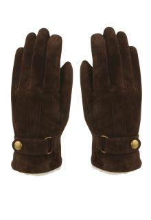Hatland---Gloves-for-men---Vjall---Brown