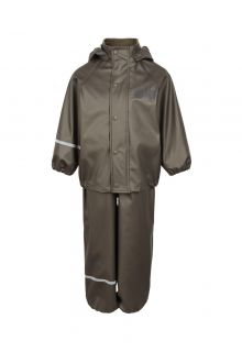 CeLavi---Rainwear-suit-for-kids---Solid-Mettalic---Grey