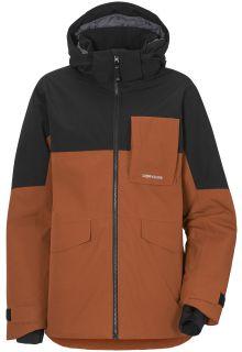 Didriksons---Rain-jacket-2-for-boys---Luke---Bisquit-Brown