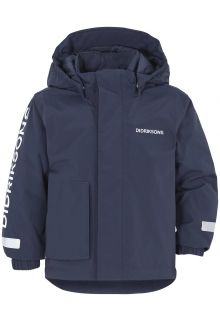 Didriksons---Padded-rain-jacket-for-children---Lovis---Darkblue