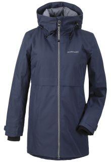 Didriksons---Padded-raincoat-for-women---Helle-Parka---Darkblue